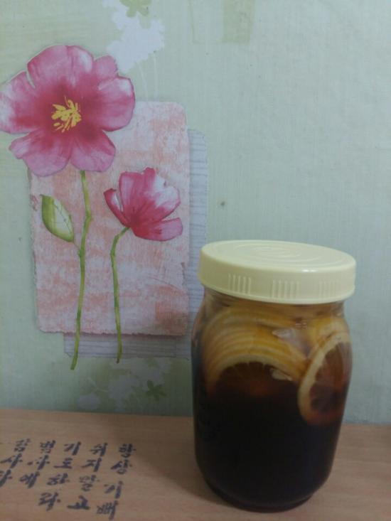 숨쉬는레몬산야초효소 (1 L)