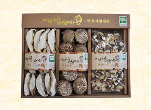 버섯사랑세트(소) (채원형깍두기..